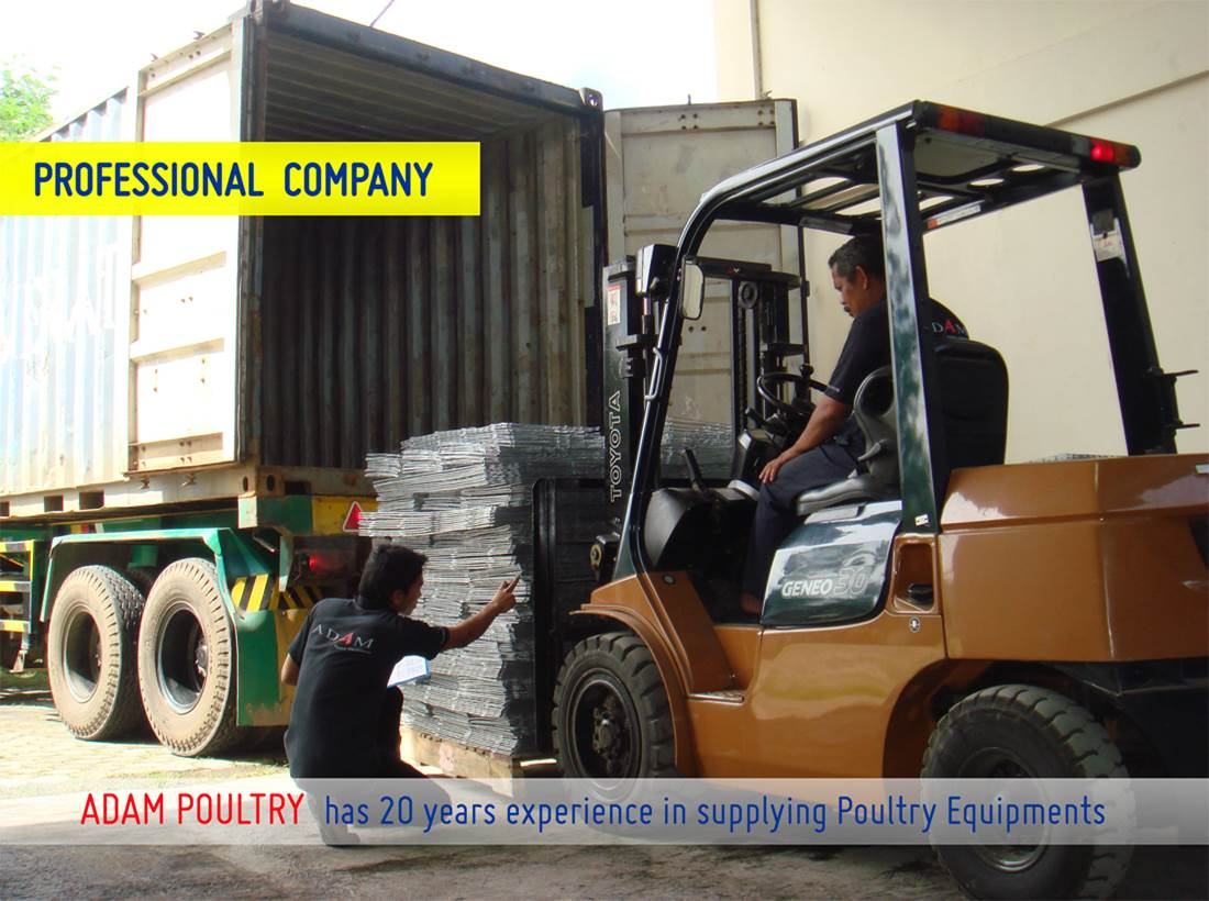 Adam Poultry - Forklift