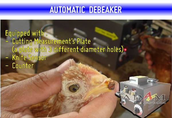Adam Poultry - Automatic Debeaker