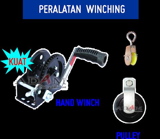 peralatan winching lain